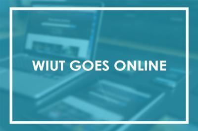 WIUT goes on-line