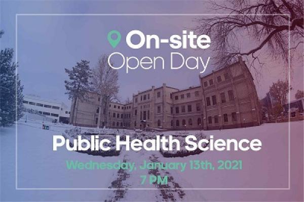 MSc Public Health Open Day On-Site