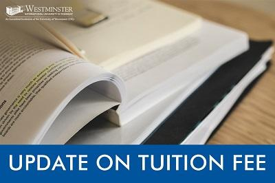 Tuition fee updates